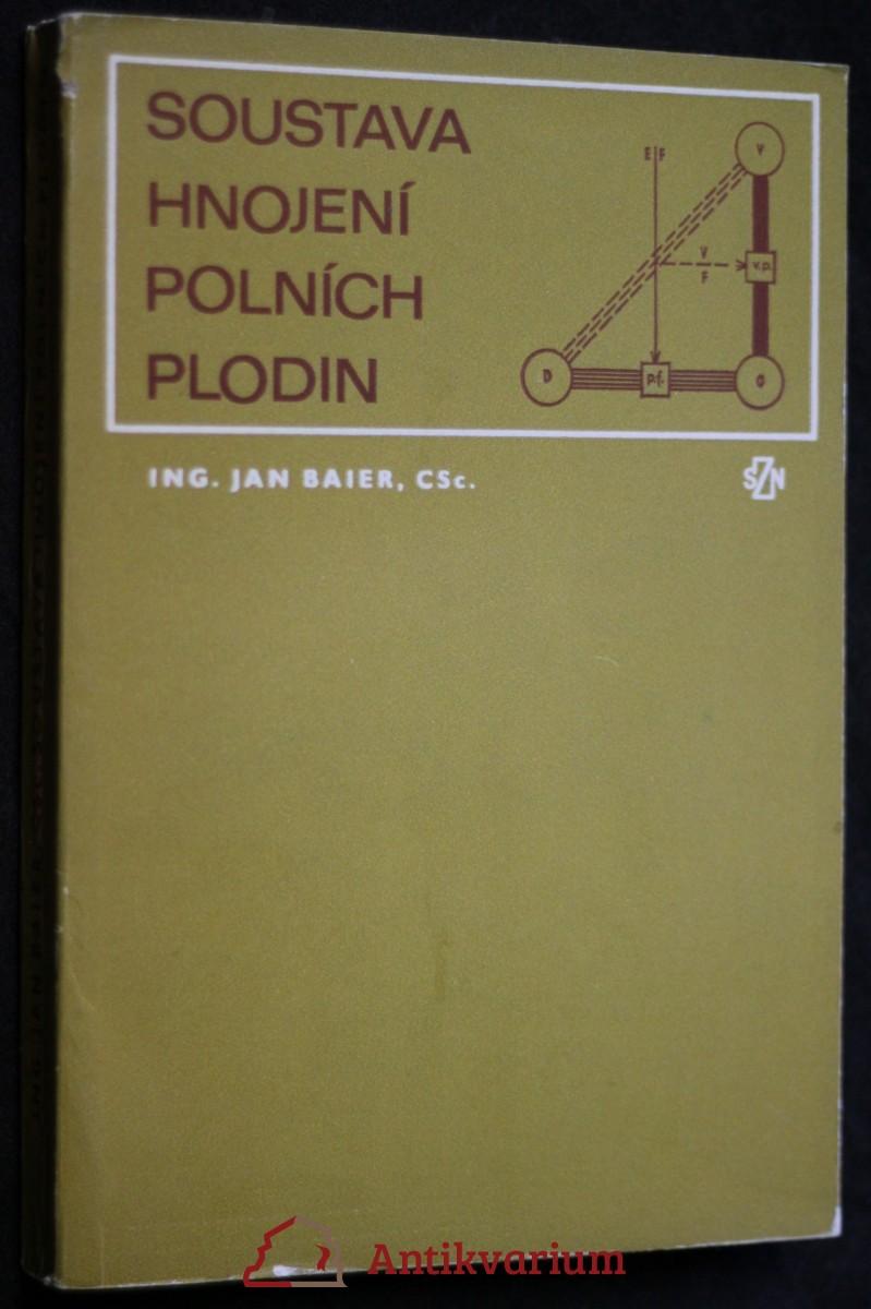 antikvární kniha Soustava hnojení polních plodin, 1979