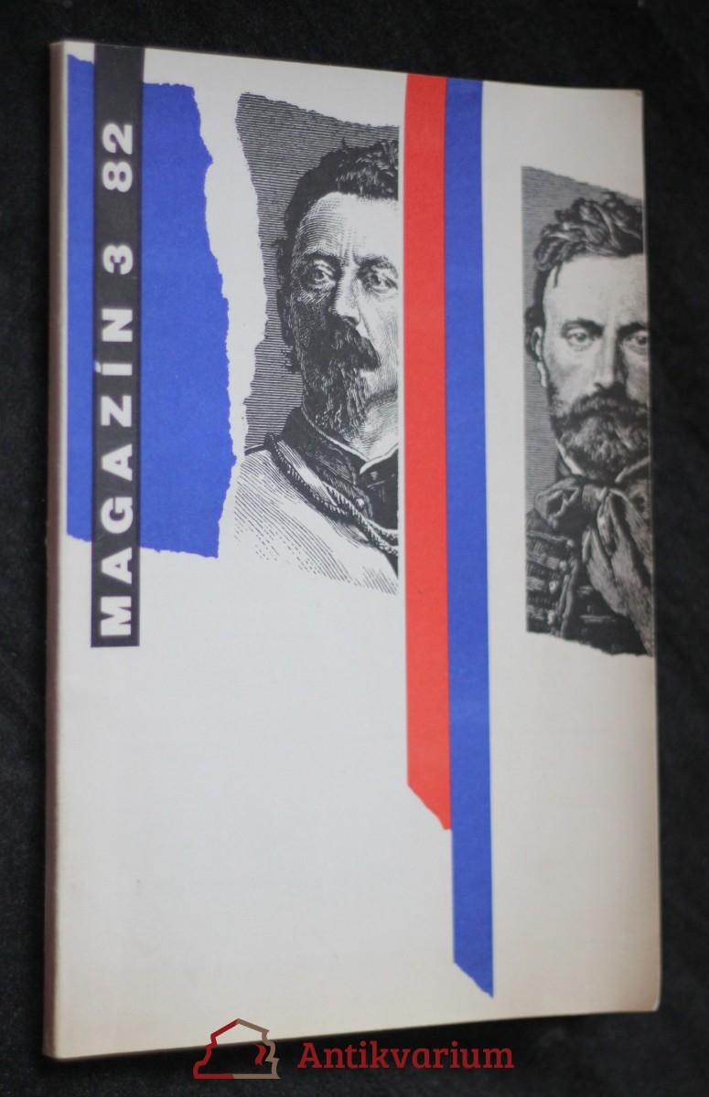 antikvární kniha Magazín, č. 3, ročník 11., 1982