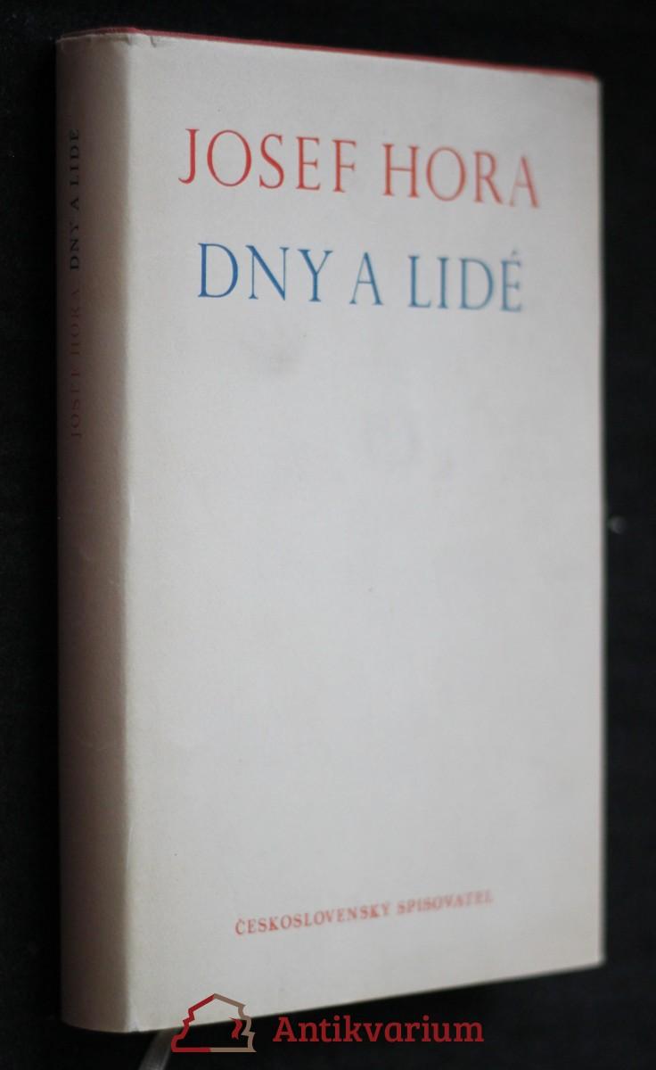 antikvární kniha Dny a lidé, 1961
