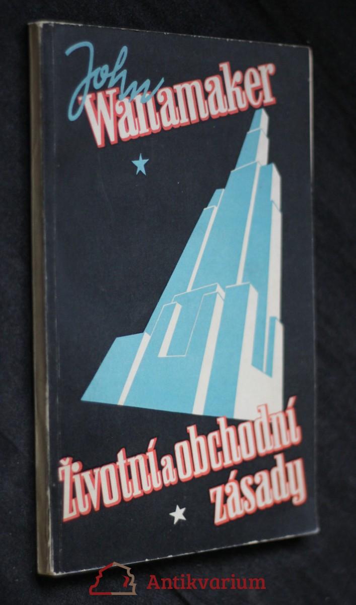 antikvární kniha Životní a obchodní zásady, neuvedeno