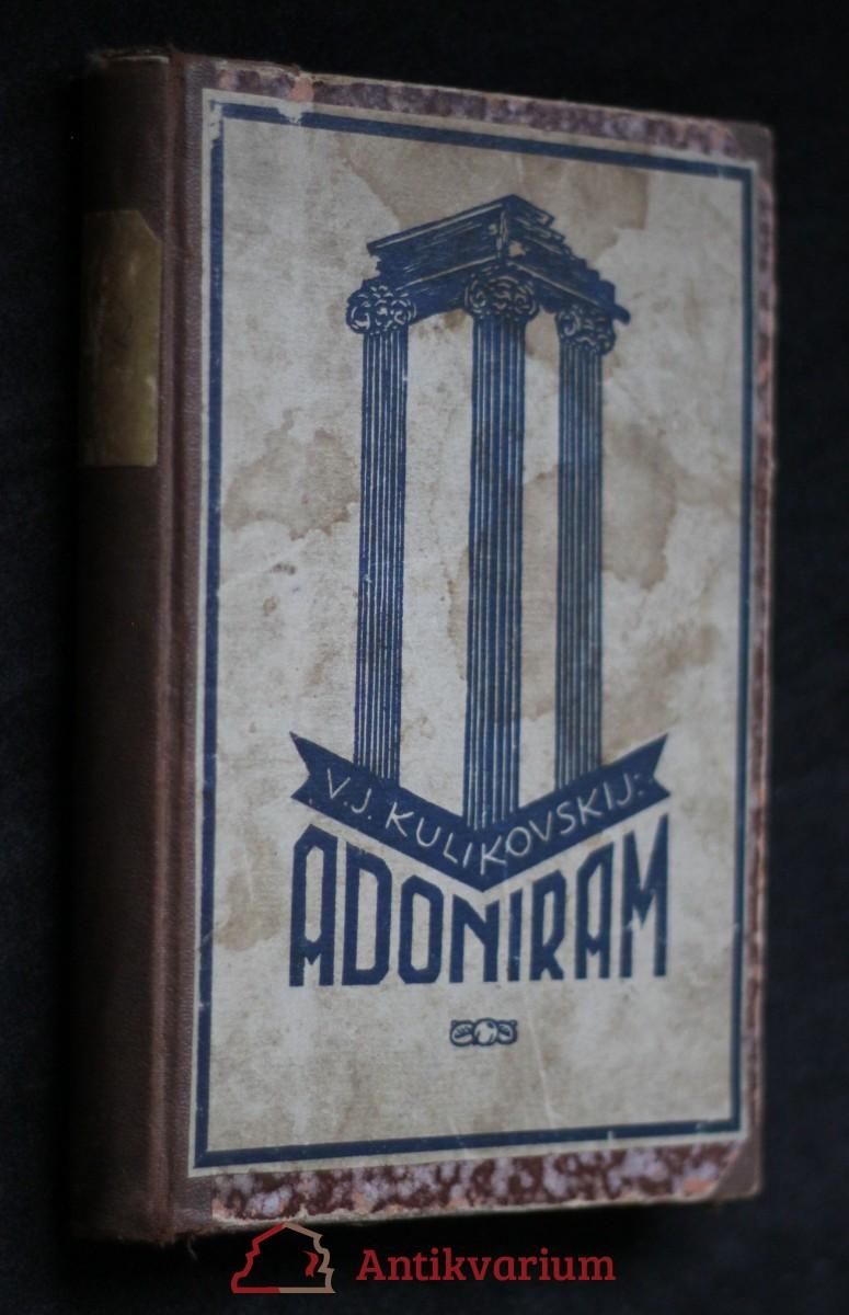 antikvární kniha Adoniram, 1925