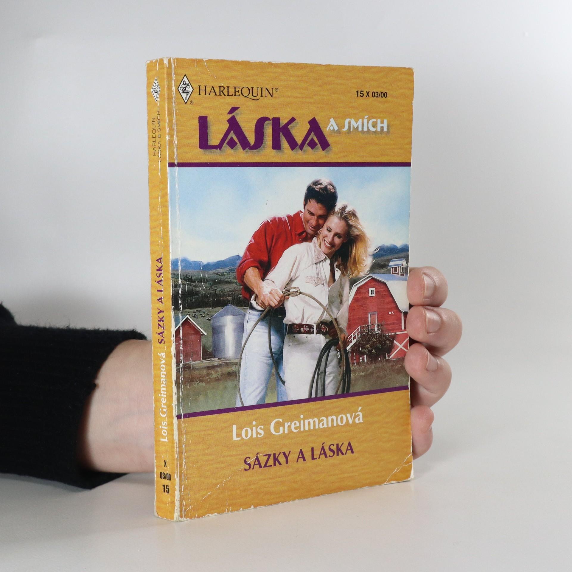 antikvární kniha Sázky a láska, 2000