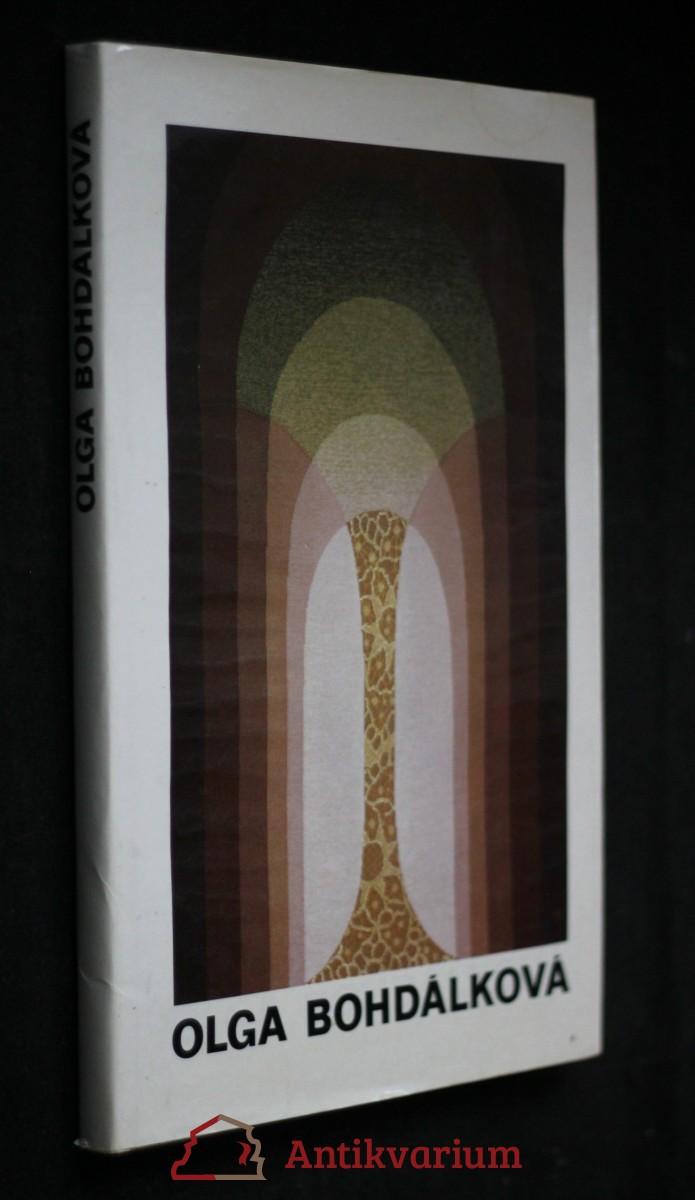 antikvární kniha Olga Bohdálková: Tapisérie, koláže, kresby, koberce, zrcadla, neuvedeno