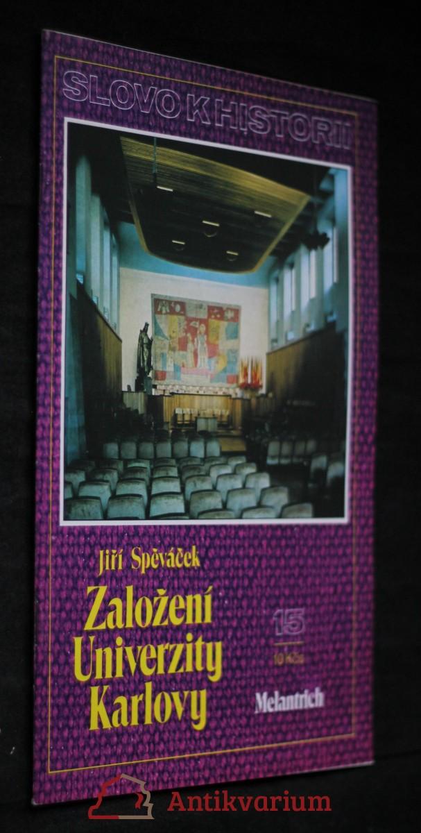Založení Univerzity Karlovy, č. 15