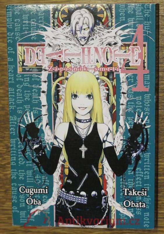 antikvární kniha Death note 4, 2012