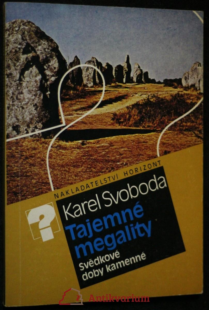 Tajemné megality : svědkové doby kamenné