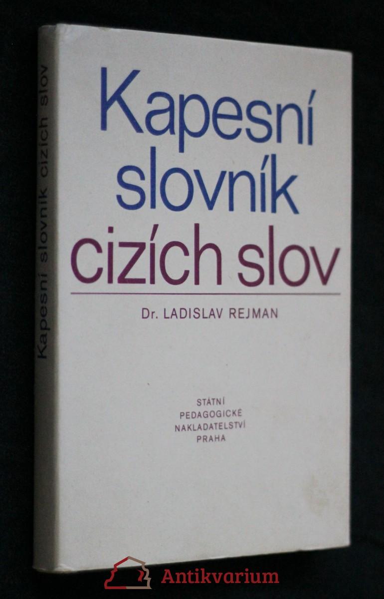 Kapesní slovník cizích slov