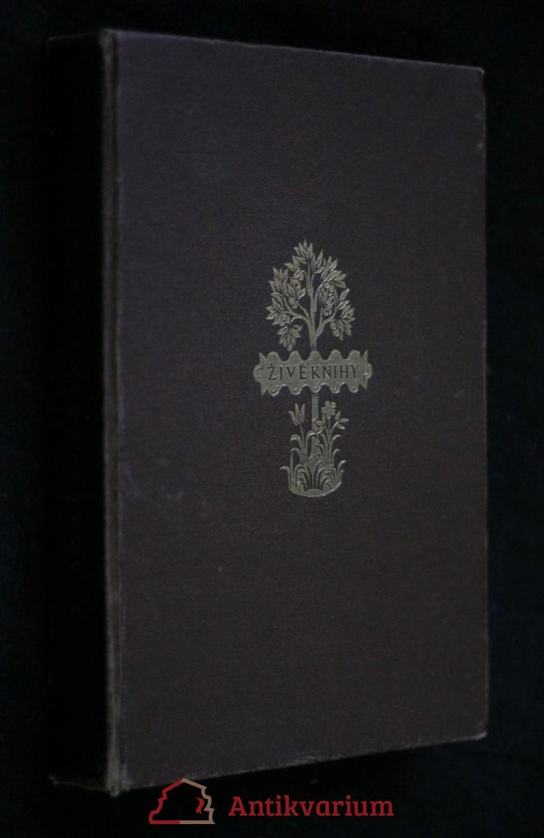 antikvární kniha Černý a bílý , 1925
