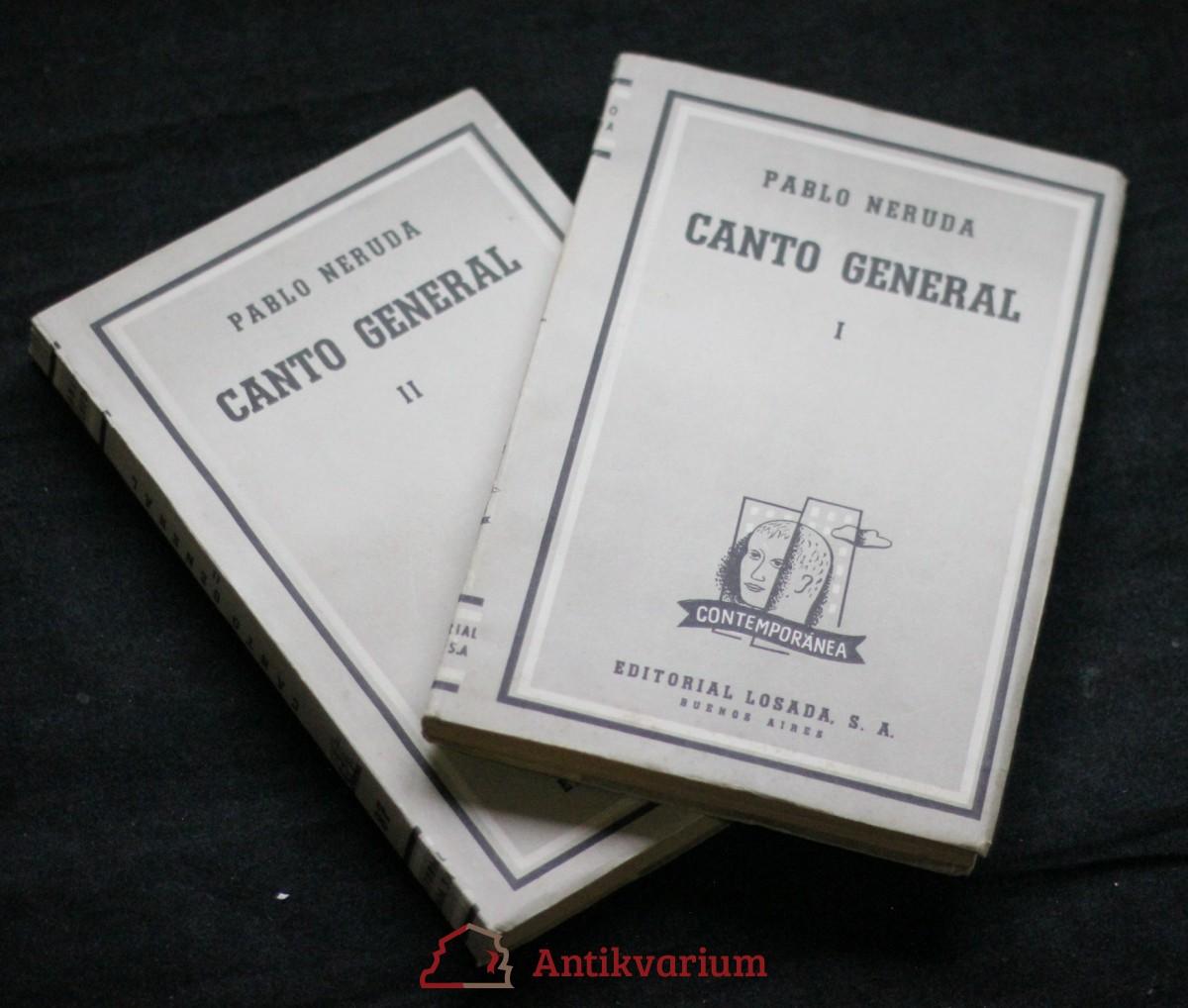 Canto general, 1.-2. díl