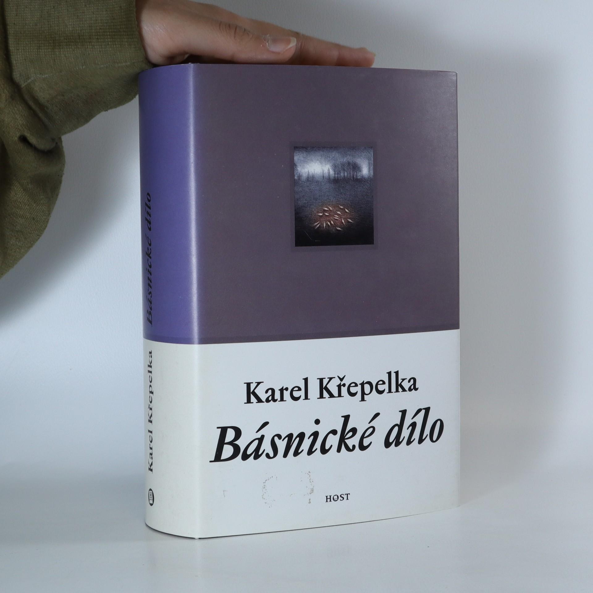 antikvární kniha Básnické dílo. Karel Křepelka, 2000