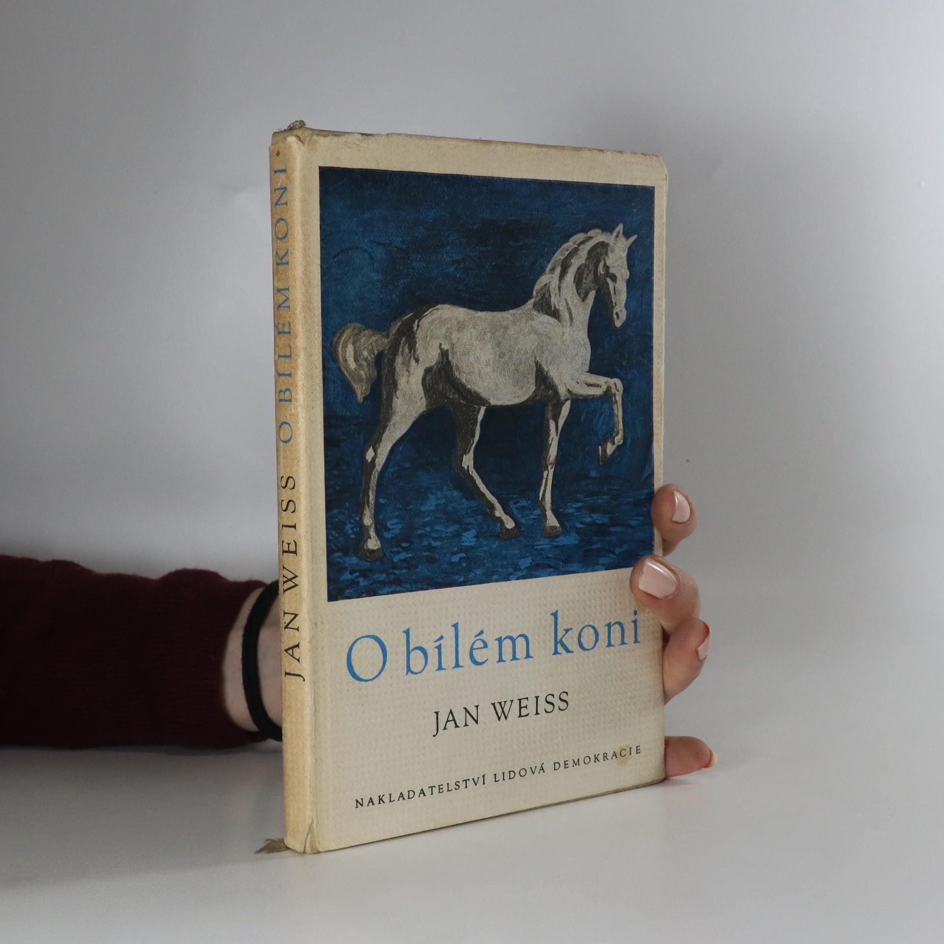 antikvární kniha O bílém koni (podpis autora), 1959