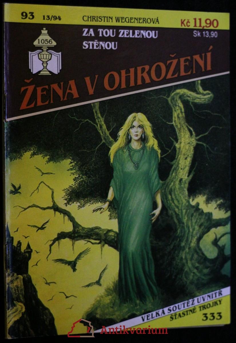 antikvární kniha Za tou zelenou stěnou, 1994