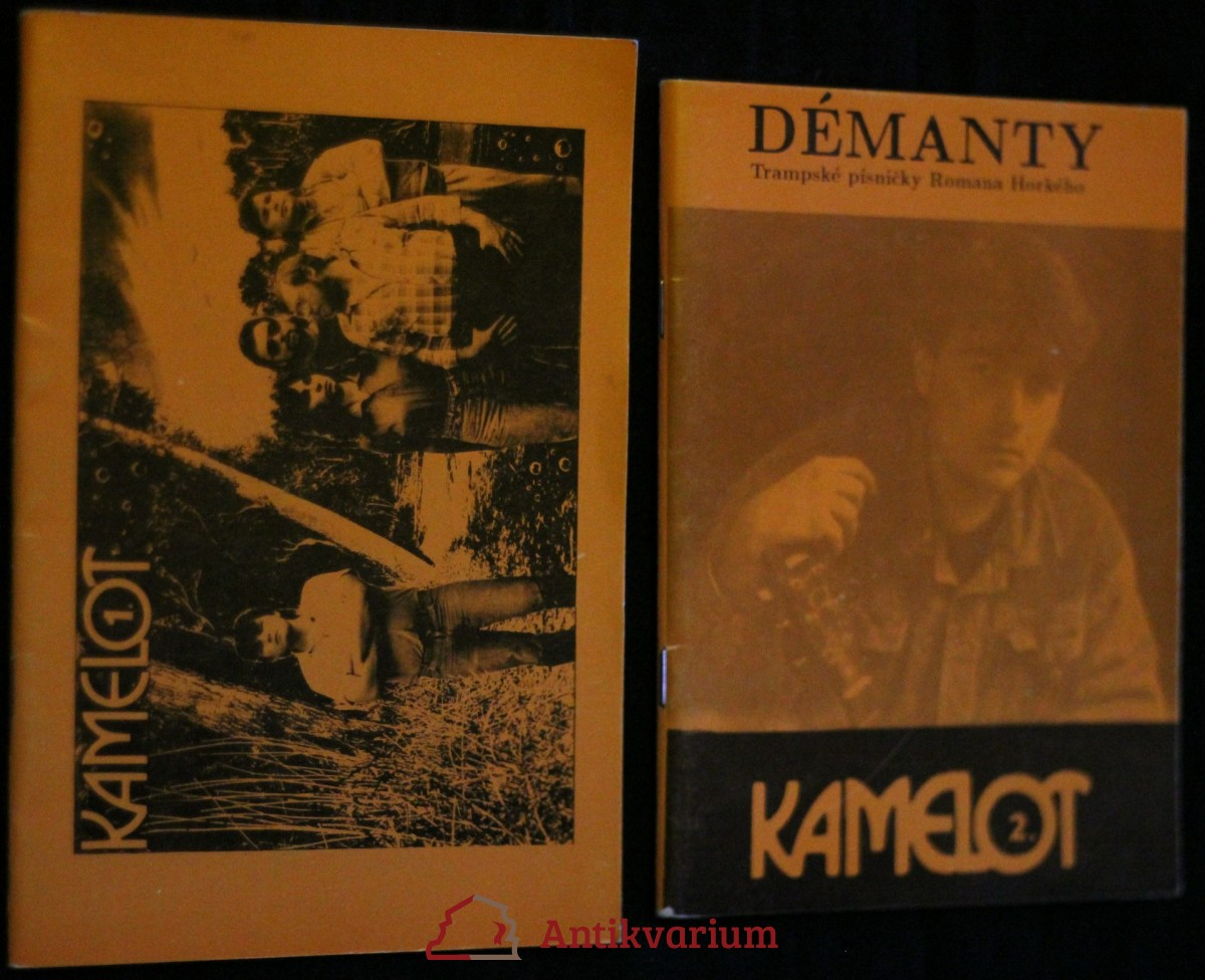 antikvární kniha Kamelot 1. - 2., 1992