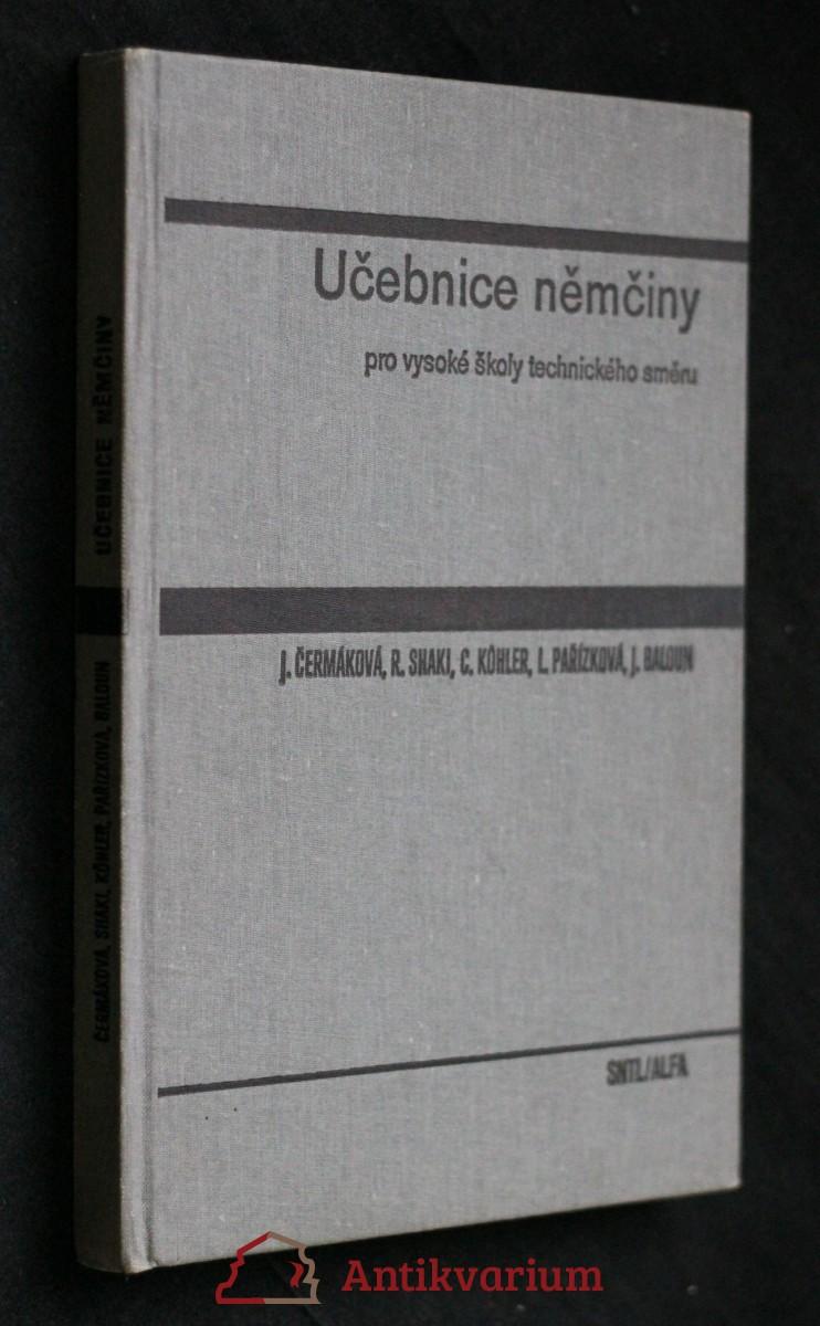Učebnice němčiny pro vysoké školy technického směru : celostátní vysokoškolská učebnice