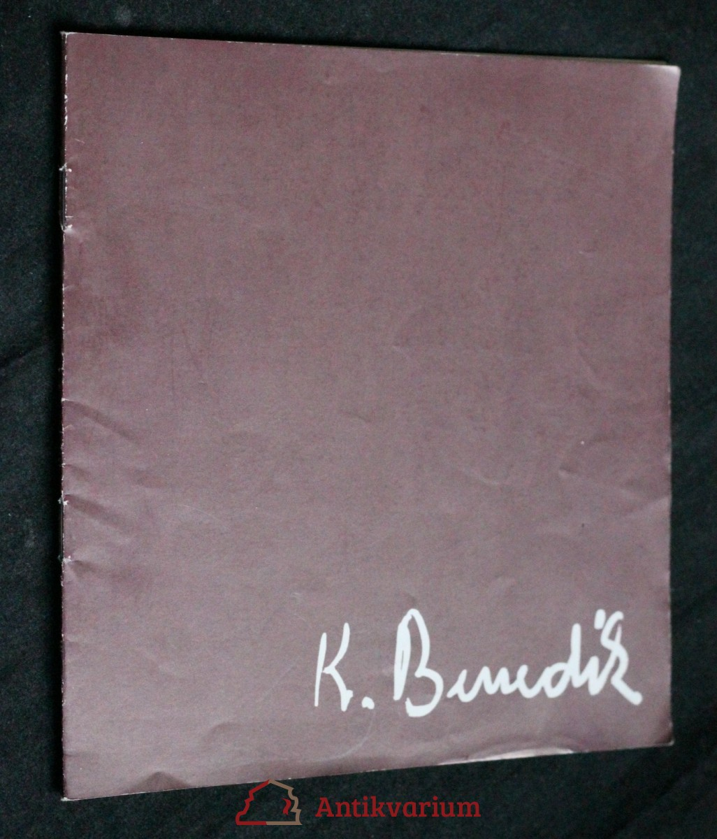 Karel Benedík : malířské dílo a restaurátorská činnost : [Katalog] výstavy k umělcovým šedesátinám, Hodonín, červen - červenec 1983