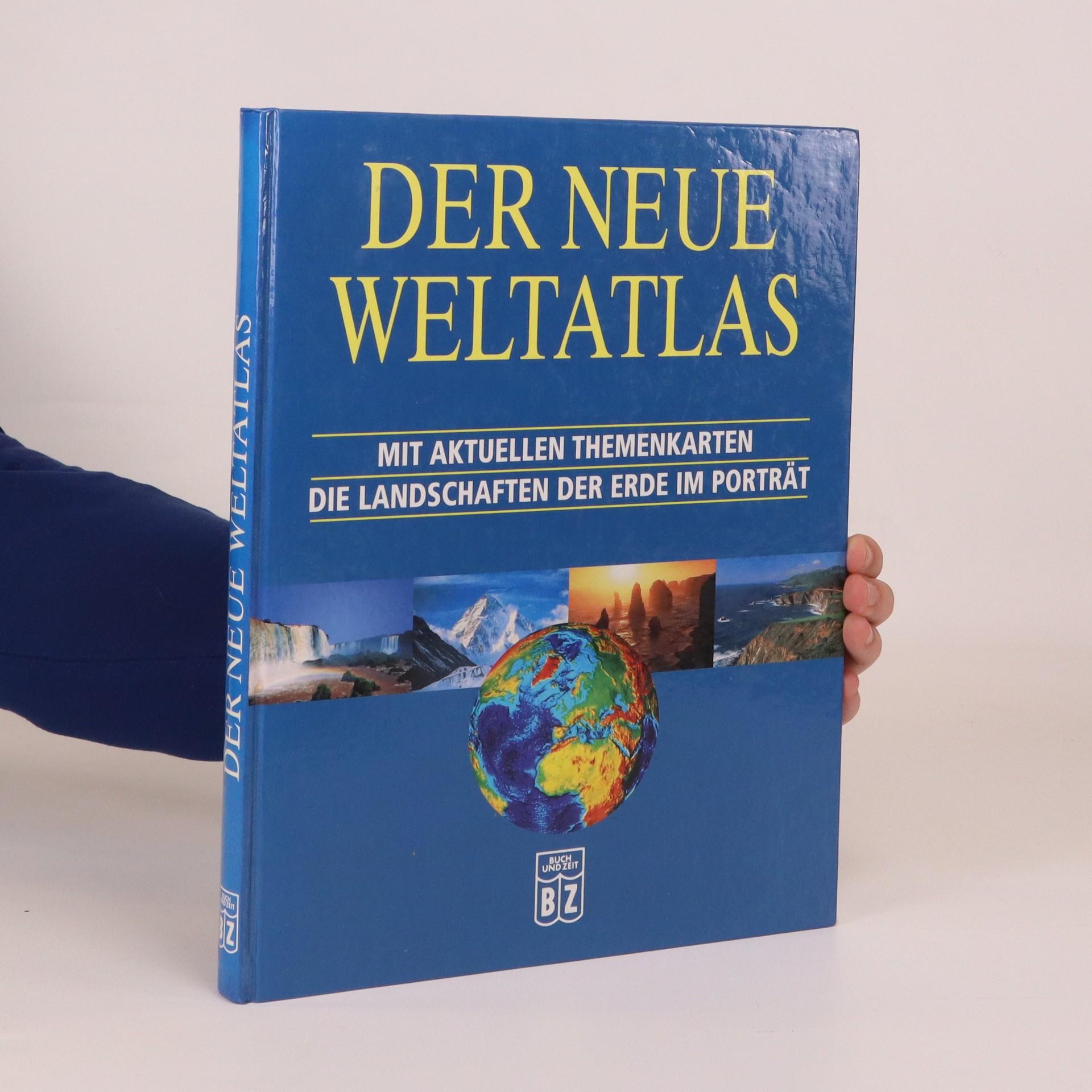 antikvární kniha Der neue Weltatlas, neuveden