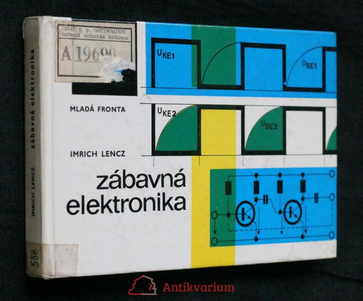 Zábavná elektronika : elektronika v soutěživých hrách