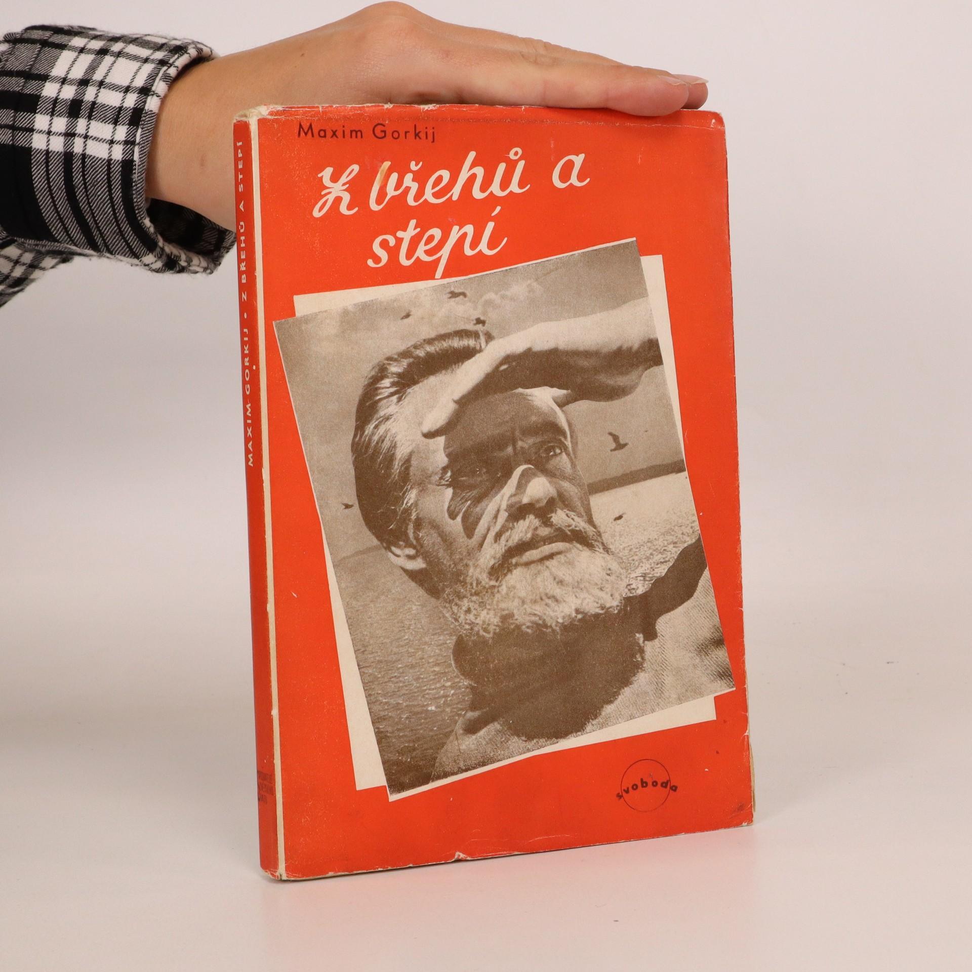 antikvární kniha Z břehů a stepí (obálka Toyen), 1946