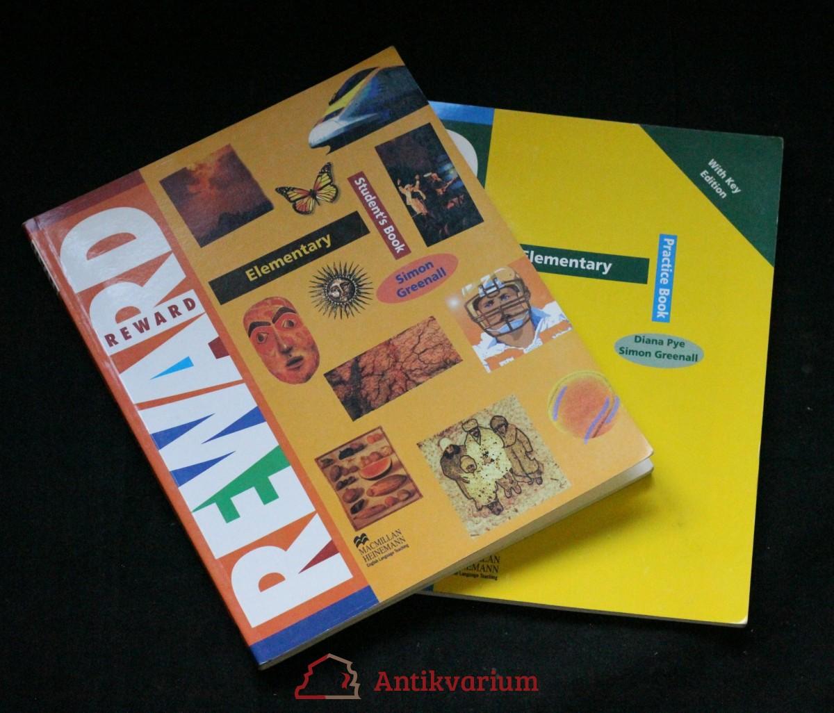 antikvární kniha Reward elementary studen's book + student's practise book, 1997