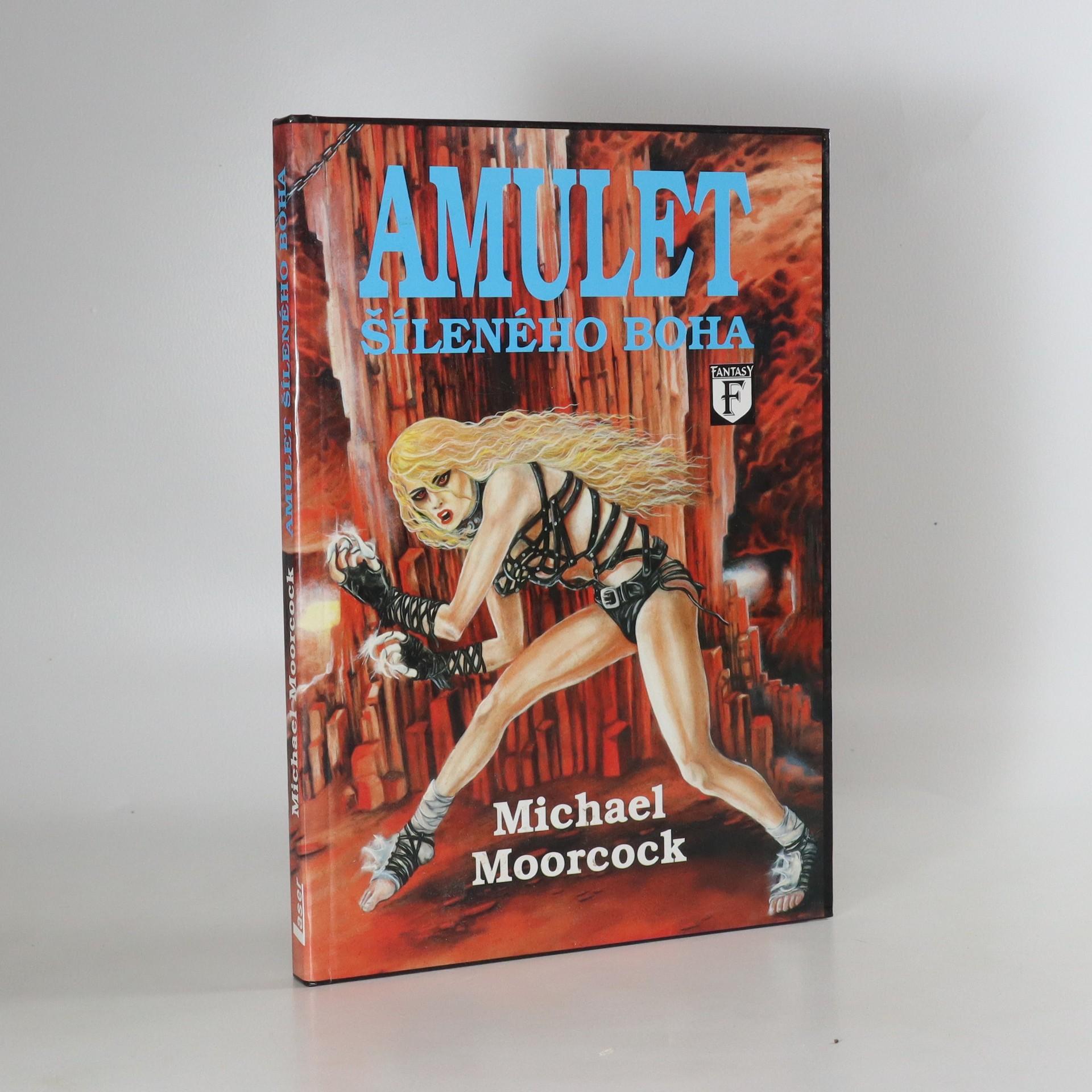 antikvární kniha Amulet šíleného boha, 1994