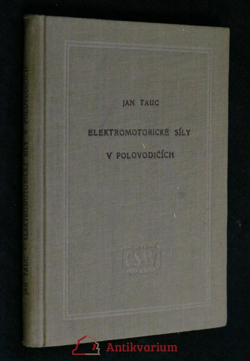 Elektromotorické síly v polovodičích