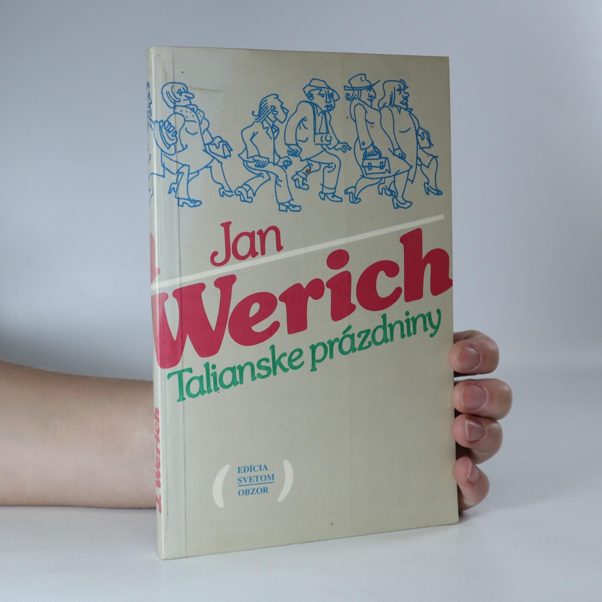 antikvární kniha Talianske prázdniny, 1988