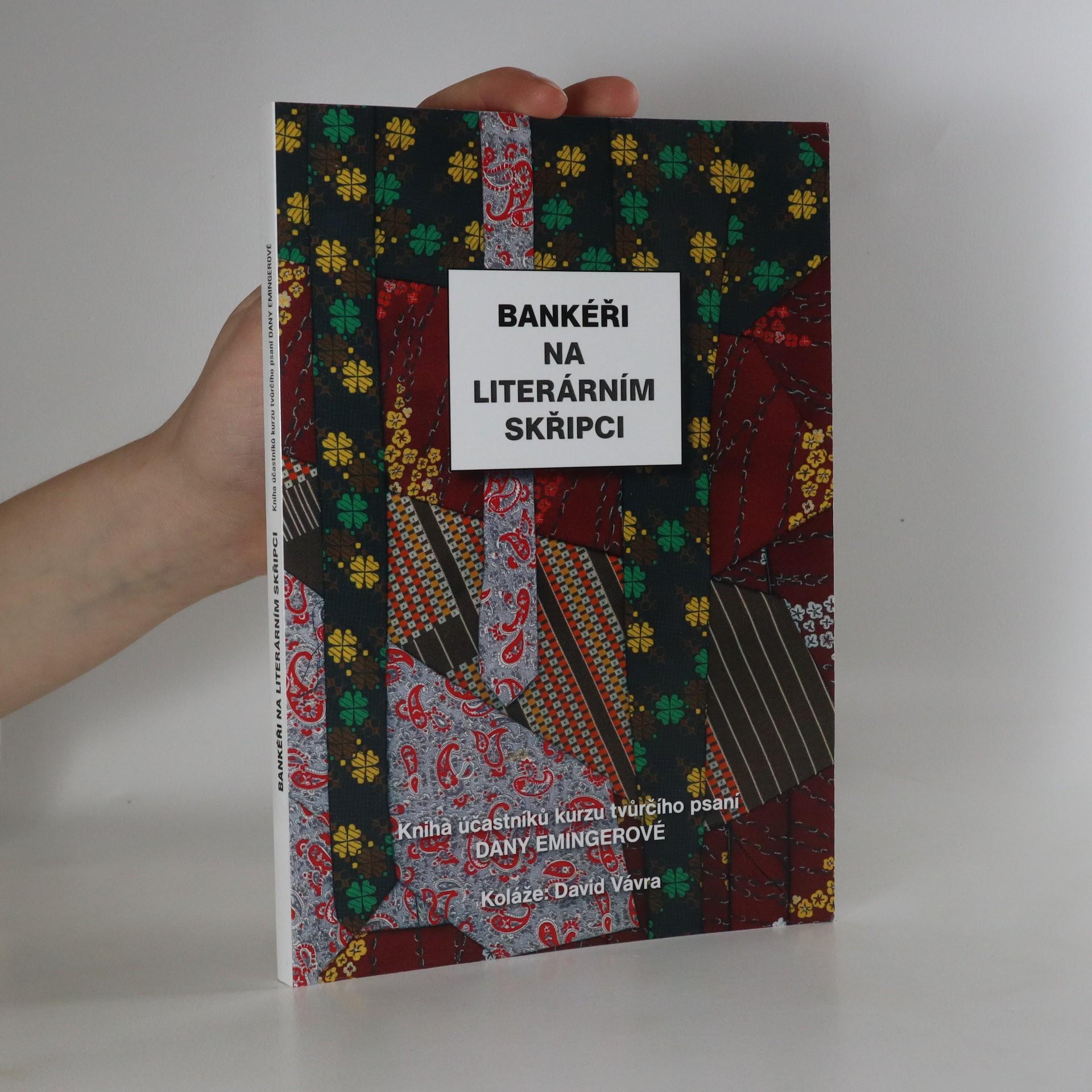 antikvární kniha Bankéři na literárním skřipci, neuveden