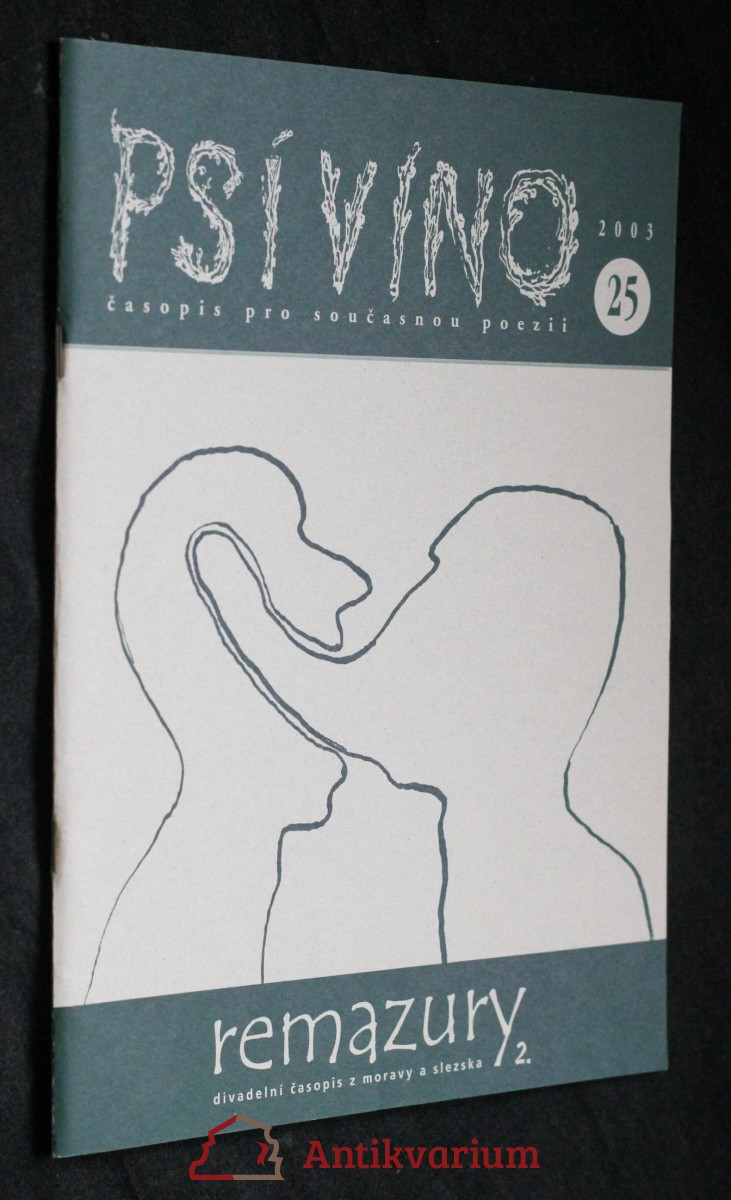 antikvární kniha Psí víno, číslo 25, 2003