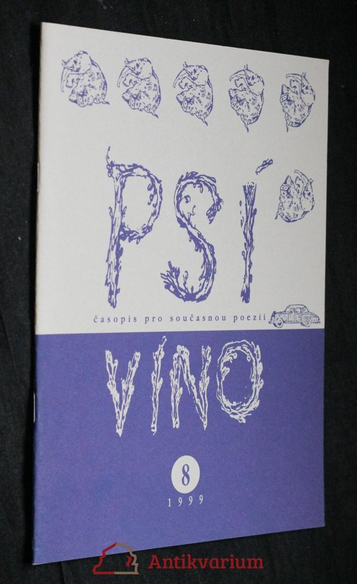 antikvární kniha Psí víno, číslo 8, 1999