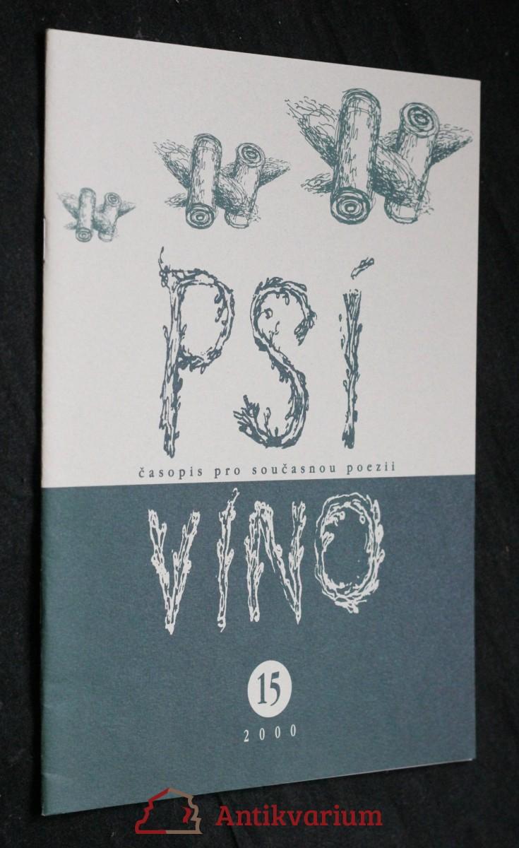 antikvární kniha Psí víno, číslo 15, 2000