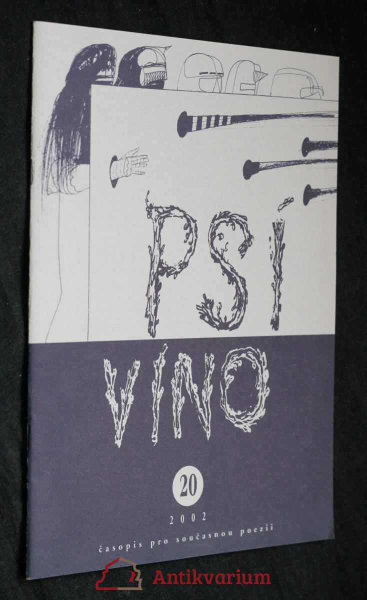 antikvární kniha Psí víno, číslo 20, 2002