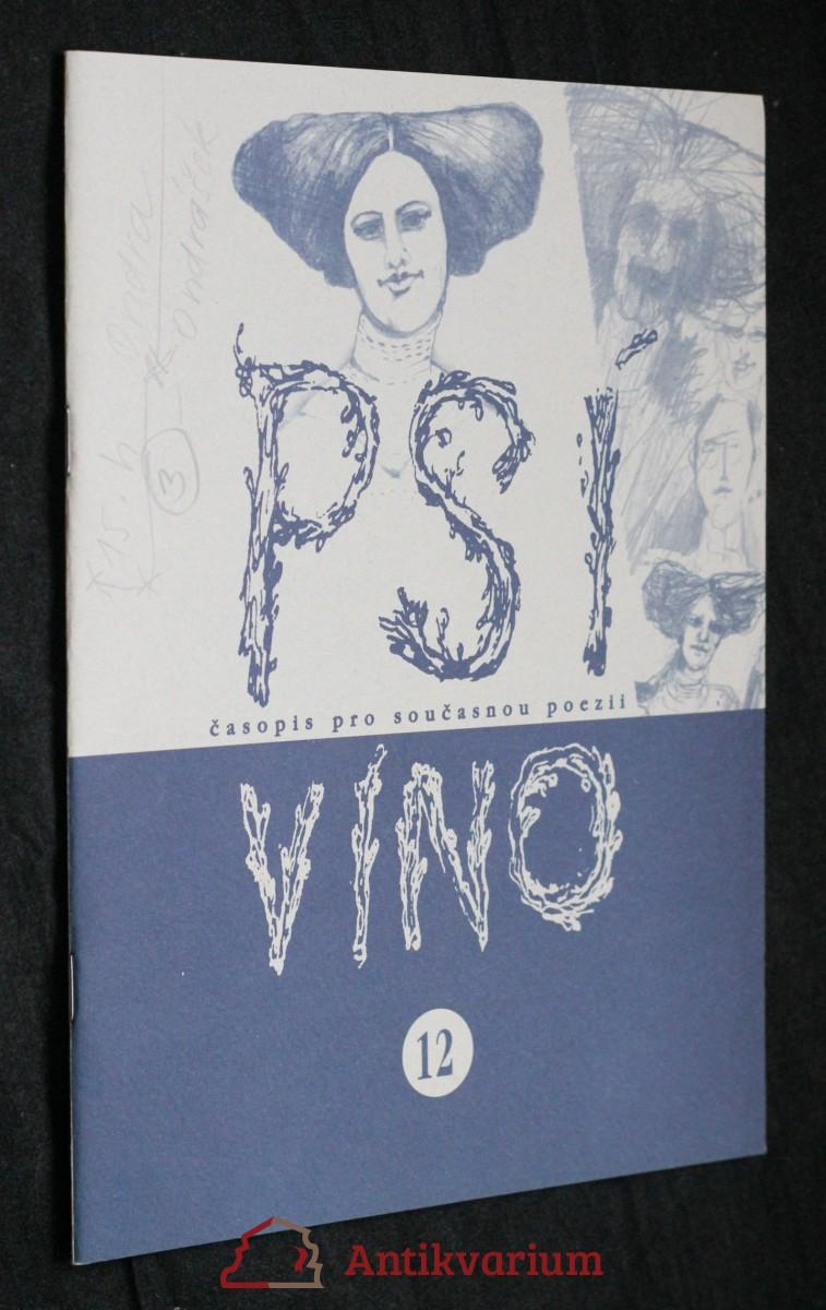 antikvární kniha Psí víno, číslo 12, 2000