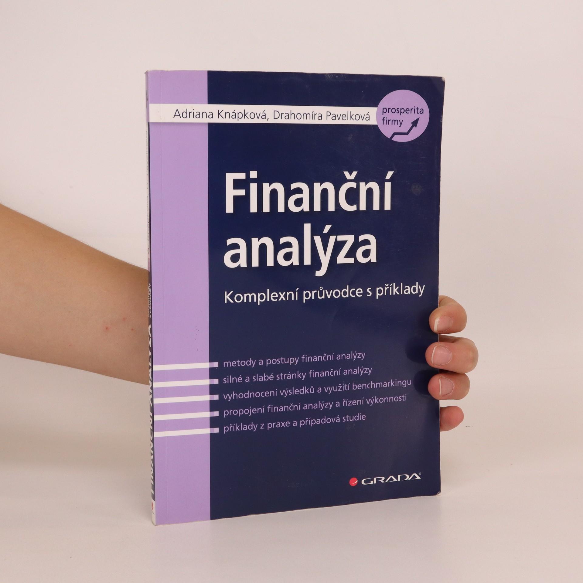 antikvární kniha Finanční analýza : komplexní průvodce s příklady, 2010