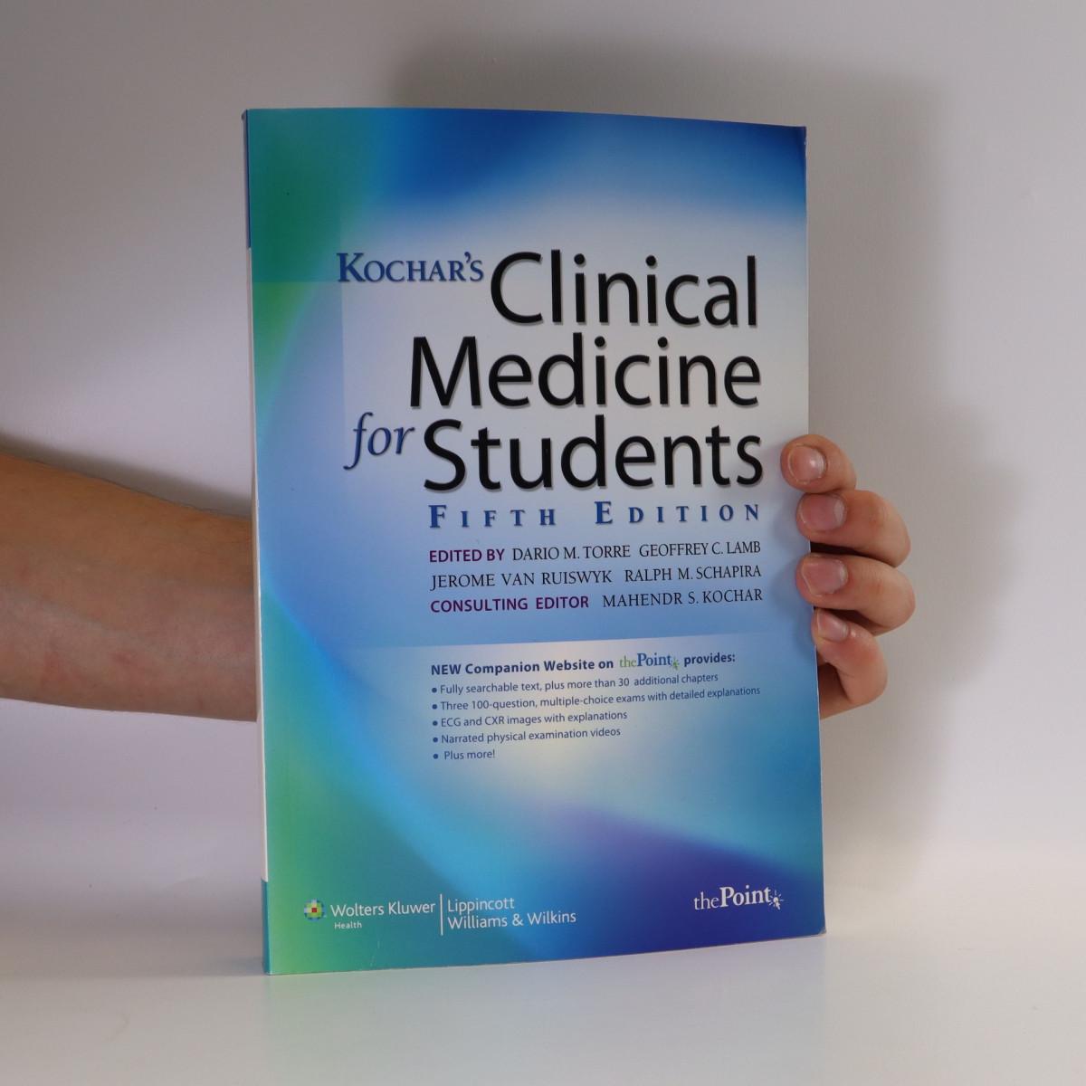 antikvární kniha Kochar's clinical medicine for students, 2009