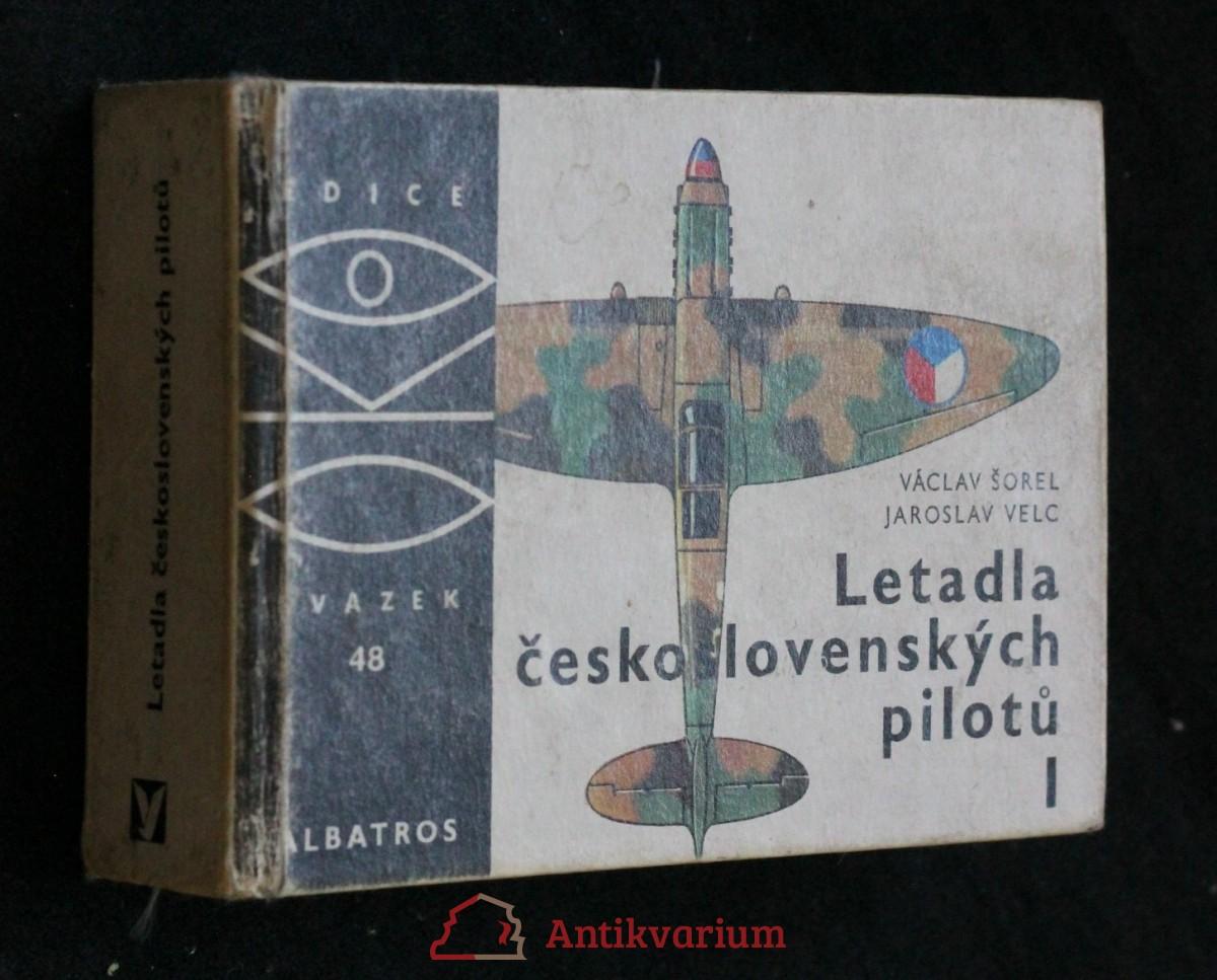 Letadla československých pilotů 1