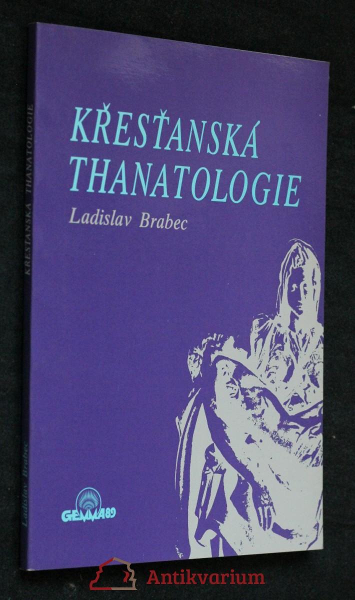 Křesťanská thanatologie