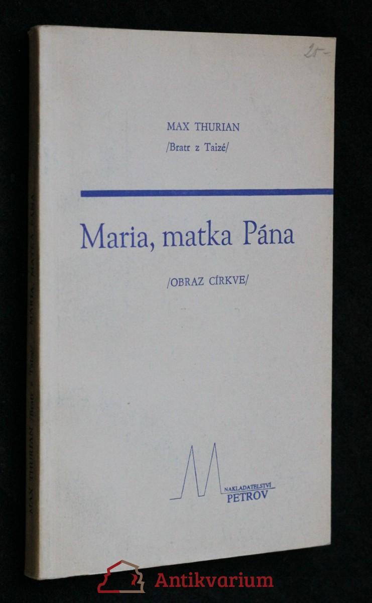 Maria, matka Pána : (obraz církve)