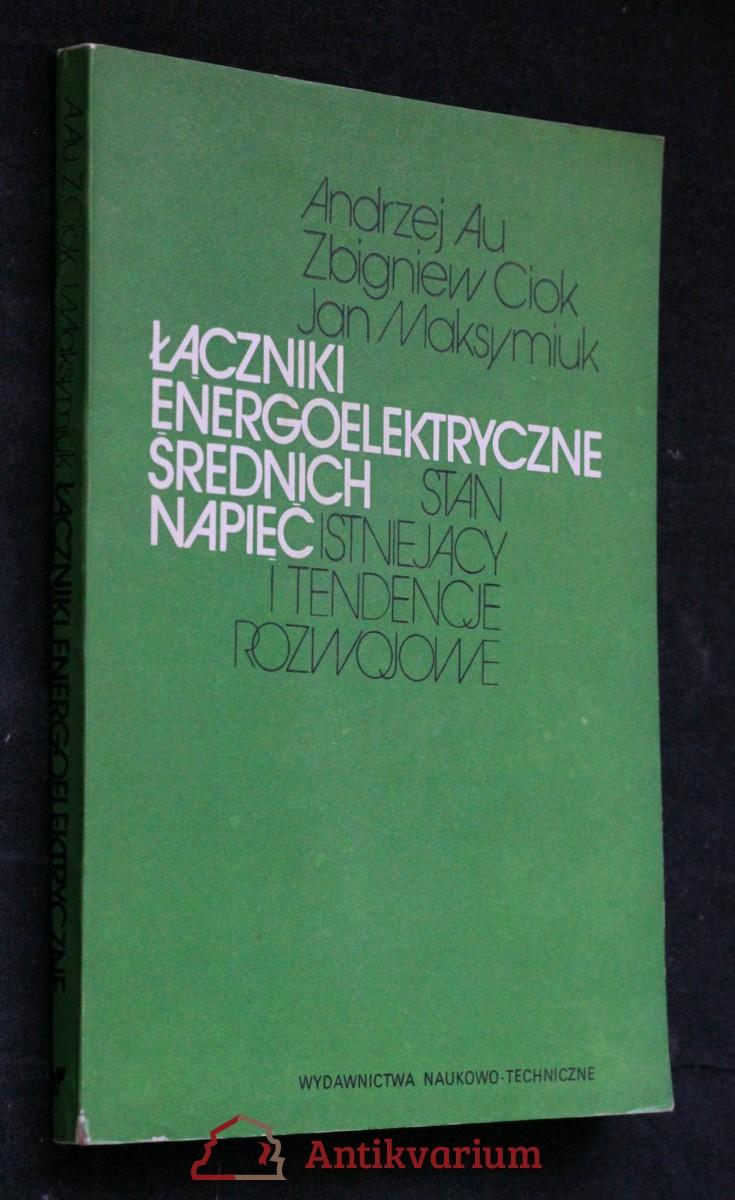 antikvární kniha Łaczniki energoelekryczne srednich napiec, 1984