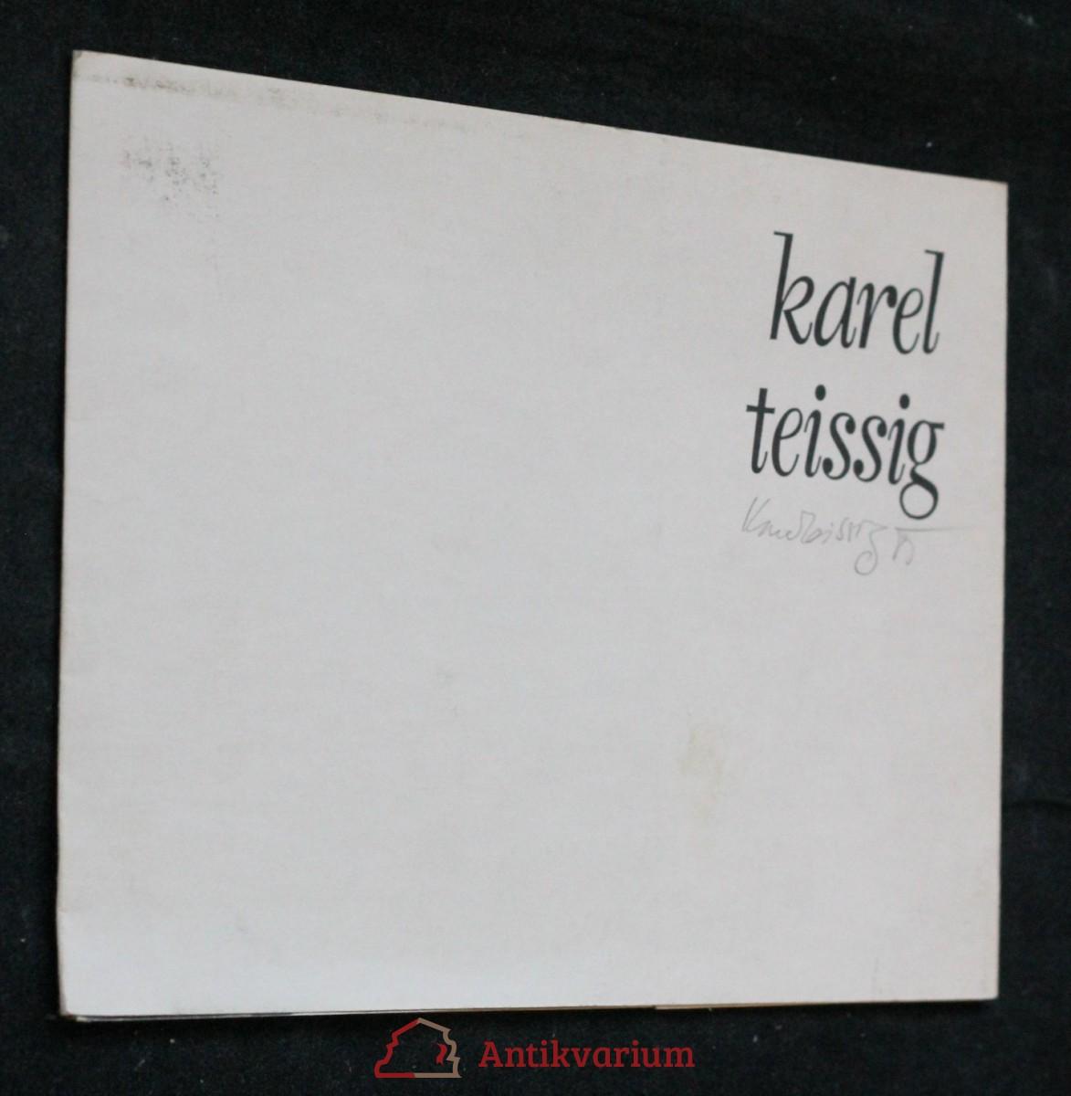 antikvární kniha Karel Teissig , 1981