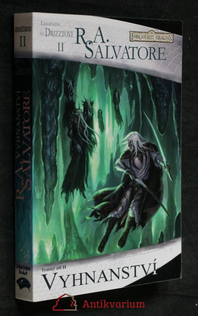 Temný elf. II, Vyhnanství