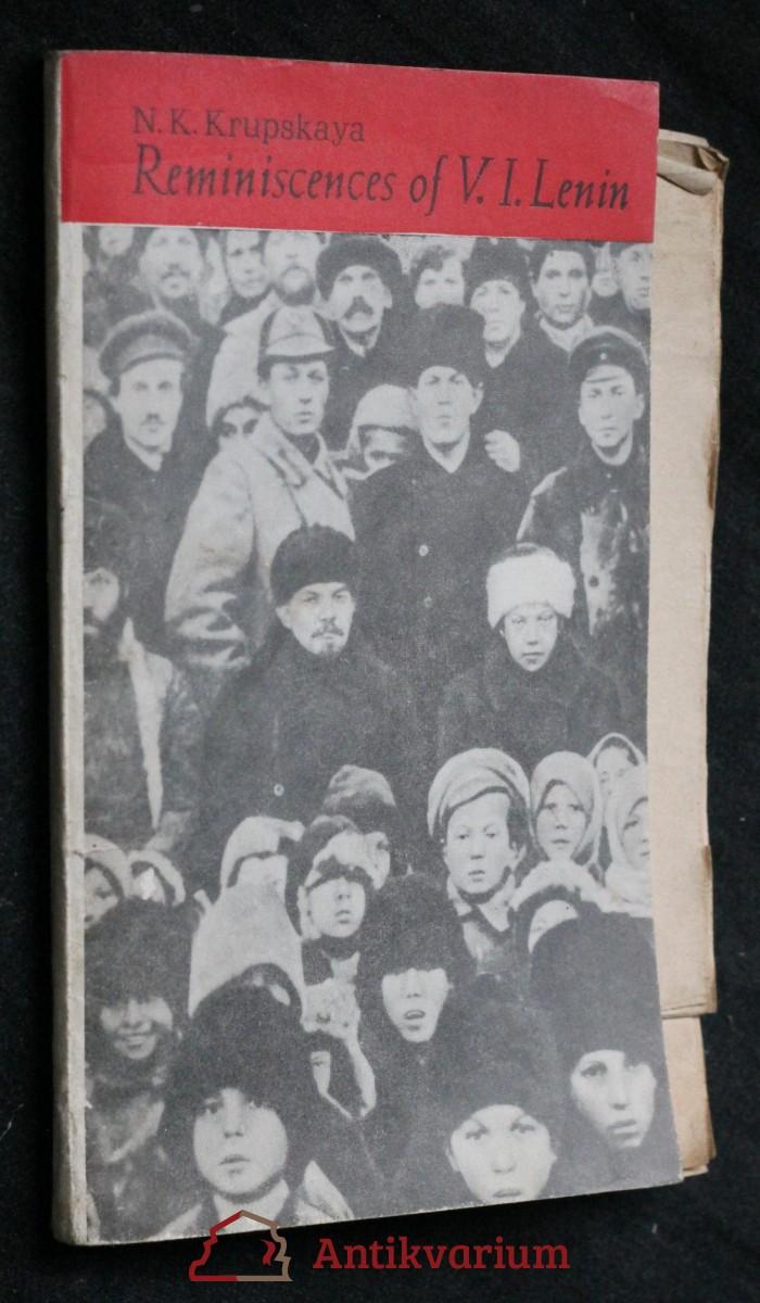 antikvární kniha Reminiscences of V.I. Lenin , 1971