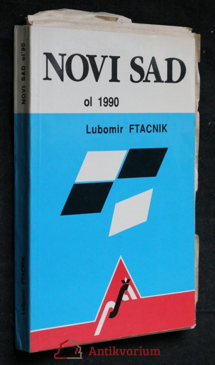 antikvární kniha Novi sad , 1990