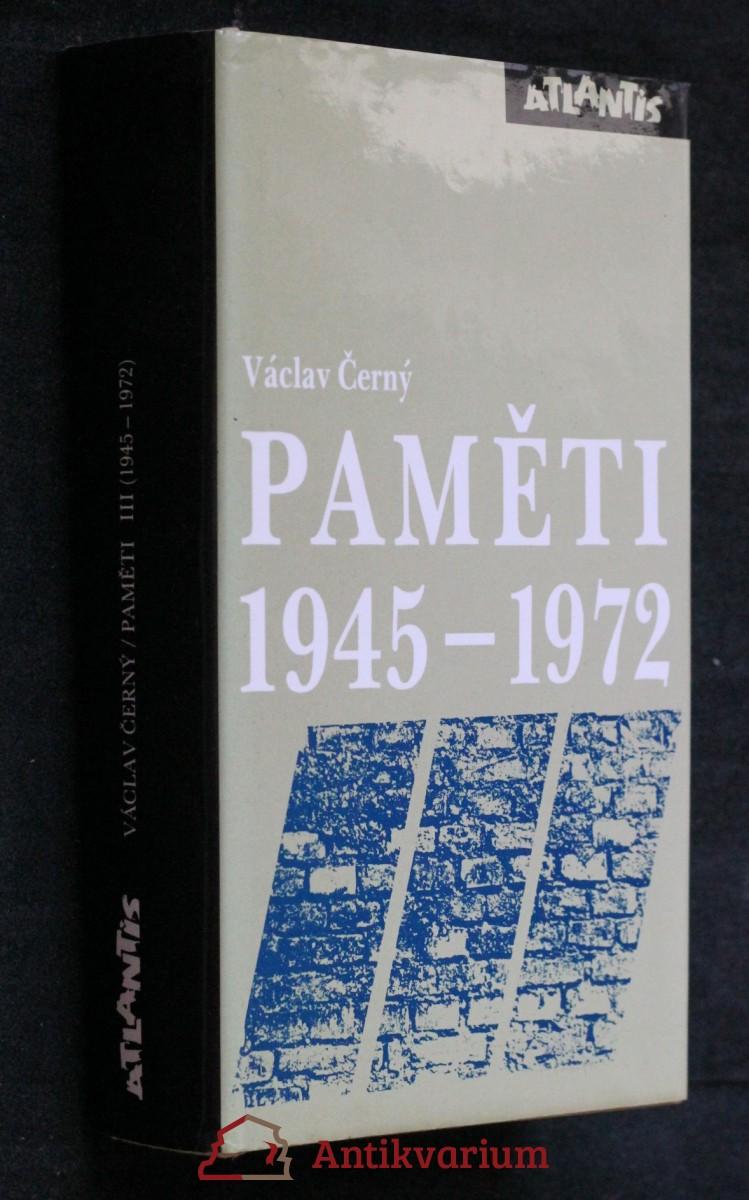 Paměti 1945-1972
