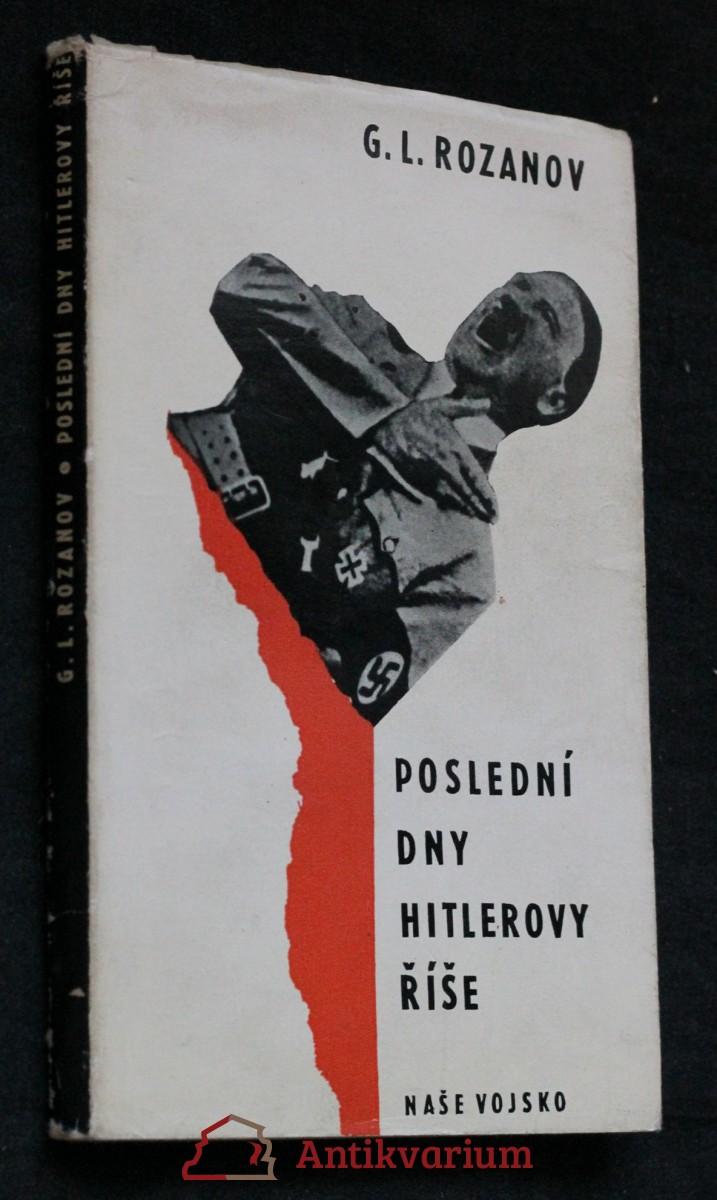 Poslední dny Hitlerovy říše