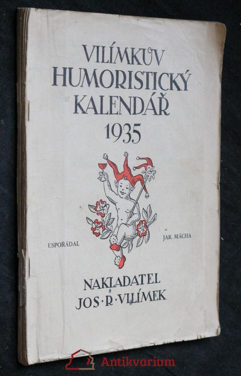 Vilímkův humoristický kalendář 1935