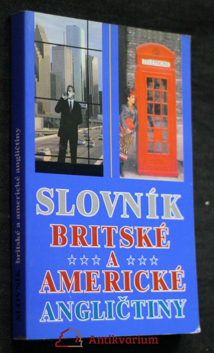 Slovník britské a americké angličtiny