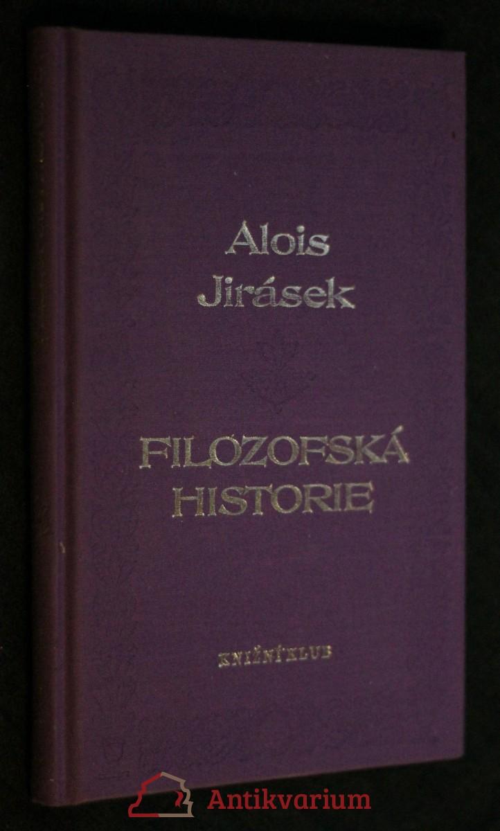 Filozofská historie
