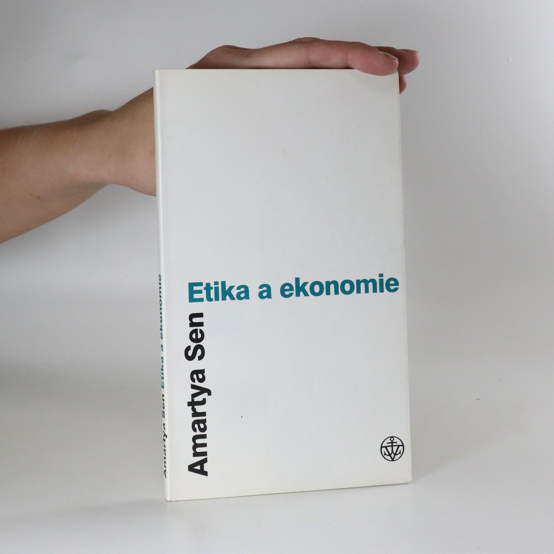 antikvární kniha Etika a ekonomie, 2002