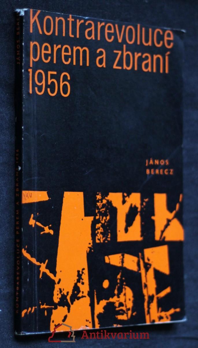 antikvární kniha Kontrarevoluce perem a zbraní, 1970
