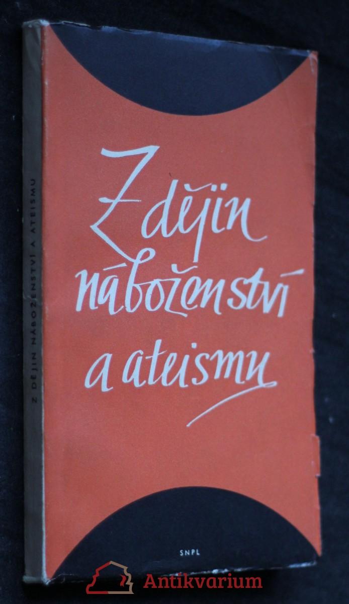 antikvární kniha Z dějin náboženství a ateismu : Sborníček, 1959